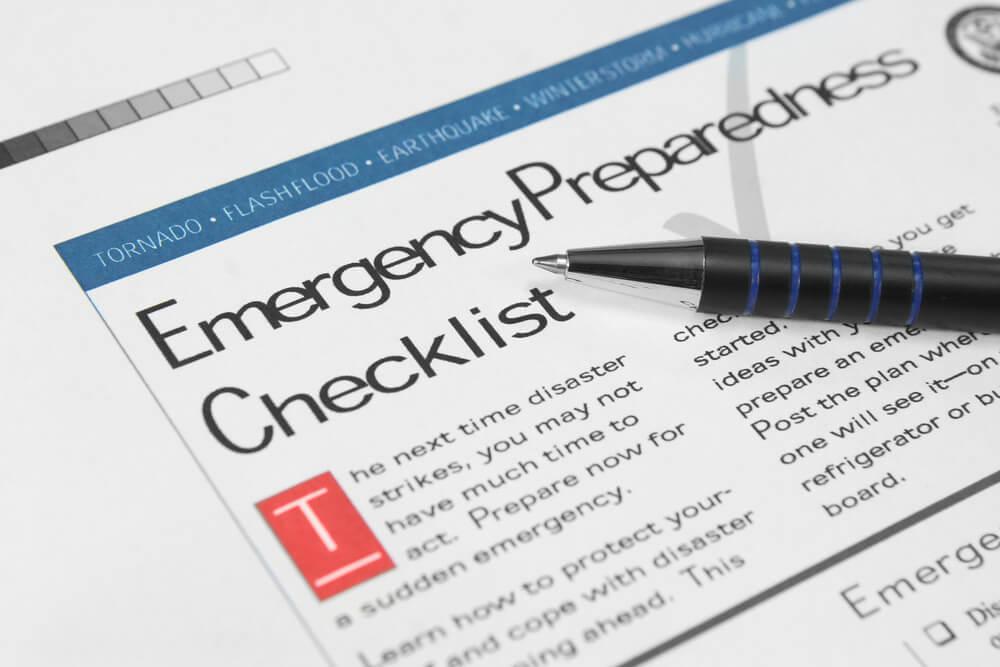 Checklist | National Preparedness Month | Bulldog Adjusters